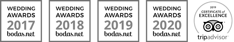 Bodas.net certificados Wedding Award